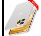 Ultratenký kryt iPhone 12/12 Pro - biely