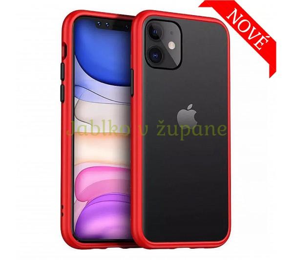 Kryt Strong iPhone 12 Mini - červený