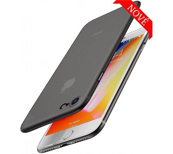Ultratenký kryt Full iPhone 7/8, SE 2 - čierny