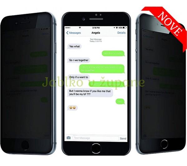 Anti-Spy tvrdené sklo iPhone 6/6S, 7/8, SE 2
