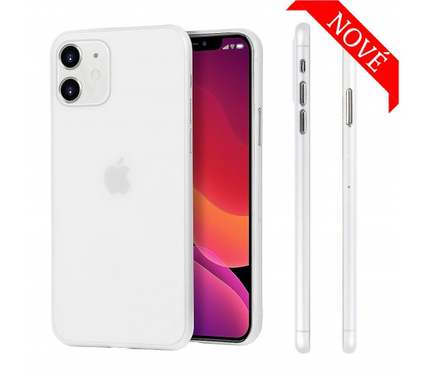 Ultratenký kryt Full iPhone 11 - biely