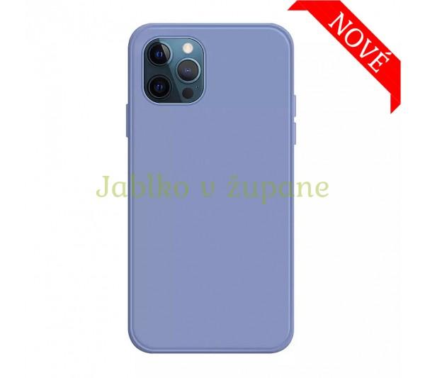 Silikónový kryt iPhone 12 Mini - svetlo modrý