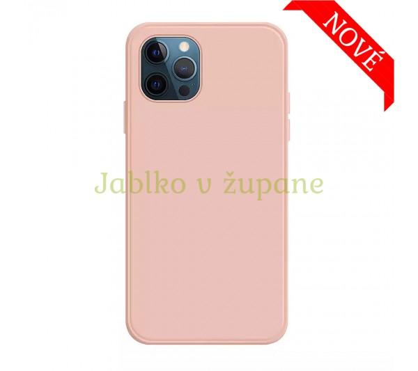 Silikónový kryt iPhone 12/12 Pro - ružový