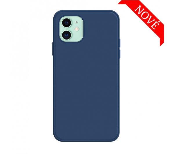 Silikónový kryt iPhone 12 Mini - modrý