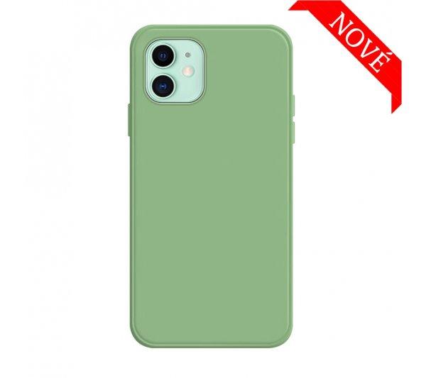 Silikónový kryt iPhone 12 Mini - zelený