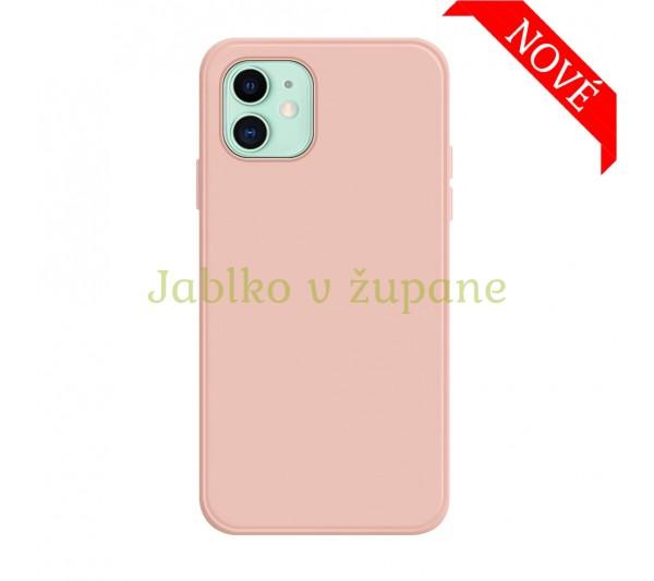 Silikónový kryt iPhone 12 Mini - ružový