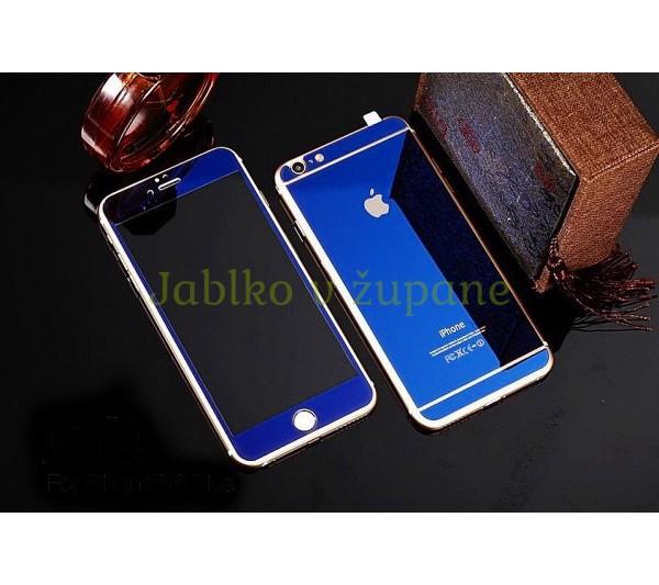 Tvrdené sklo iPhone 6 6S - modré 11e033e246e