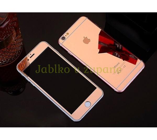 Tvrdené sklo iPhone 6 6S - ružové e90cac2c2d1