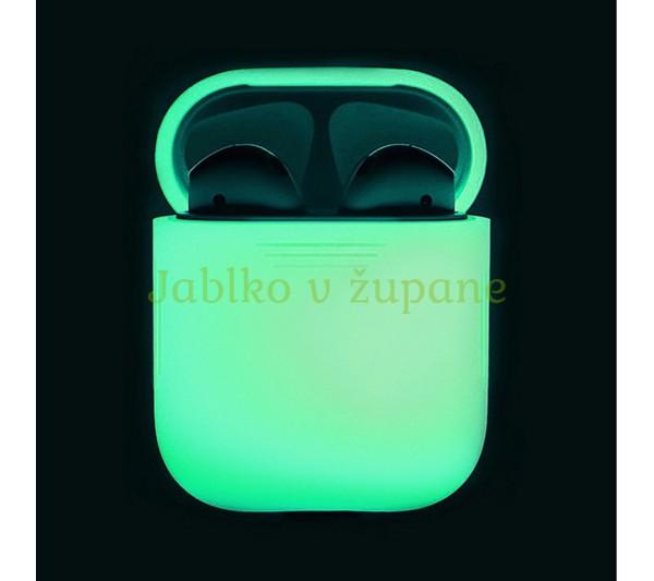 Silikónový obal Apple AirPods 1 a 2 svietiaci